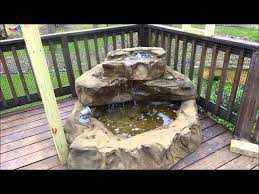 Aquascape Patio Pond 40 by Patio Pond Waterfalls Tropical Hummingbird Water Garden Oasis