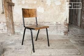 chaise de style chaise de style vintage doinel finitions patinées pib