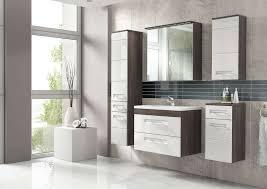 badmöbel set cosmo 60 cm weiss badezimmer mit waschbecken badezimmermöbel led