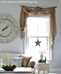 Cheap Country Living Room Curtains Rustic Simple On Small Home Remodel