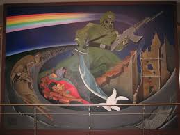 Denver International Airport Murals Youtube by Denver Airport Conspiracy Archive Old Project Avalon Forum