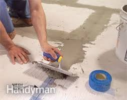 Tiling A Bathroom Floor On Concrete by How To Lay Tile Install A Ceramic Tile Floor In The Bathroom