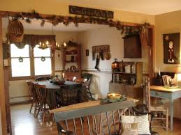 Primitive Kitchen Cabinets For With Traditional