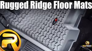 rugged ridge floor mats fast facts youtube