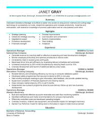 Best Operations Manager Resume Example   LiveCareer 12 Operations Associate Job Description Proposal Resume Examples And Samples Free Logistics Manager Template Mplates 2019 Download Executive Services Professional Food Templates To Showcase Example Vice President For An Candidate Retail How Draft A Sample Restaurant Fresh Educational Director Of 13 Transportation