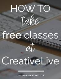 This Week's Free CreativeLive Class Schedule - | Mind Your ...