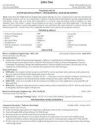 Useful Sample Resume Experienced Software Engineer Java About Developers Developer 4