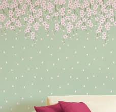 decorative stencils for walls cherry blossoms tree stencil wall stencil large tree stencil