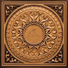 Decorative Ceiling Tiles 24x24 by Diy Decorative Pvc Ceiling Tiles 226 Antique Gold Ebay Popular