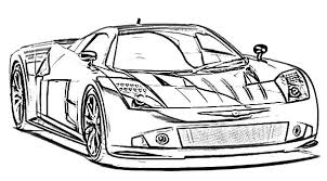 BMW Car The Awesome Racing Coloring Pages Best Place