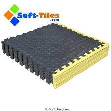 Norsk Foam Floor Mats by Interlocking Foam Flooring With Yellow Borders 1452746367 3 Jpg