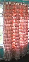 Purple Ruffle Curtain Panel by Curtains Pink Shower Curtain Amazing Pink Ruffle Curtains Aww