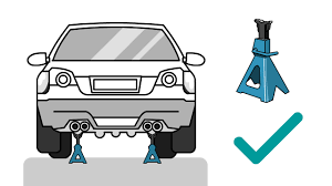 How To Use Jack Stands: 9 Steps (with Pictures) - WikiHow How To Replace Wheel Bearings Gmc Envoy Built To Drive Where To Use Jack And Stands 2005 Cadillac Cts Youtube Howto Front Bearing Hubs Rangerforums The Experiences With My Car Change Brake Pads Rotors On 2017 Nissan Titan Crew Cab Pickup Truck Review Price Horsepower Wkhorse Introduces An Electrick Pickup Truck Rival Tesla Wired Carbon Fiberloaded Sierra Denali Oneups Fords F150 Meet Macks 800hp Mega Crew Cab Top 25 Lifted Trucks Of Sema 2016 Hshot Trucking Pros Cons The Smalltruck Niche 3 Helpful Tips For Adjusting 4x4 Coilovers At Home Drivgline Jack Up A Big Safely Truck Edition