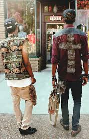 Shirt Cross Button Up Cool Urban Swag Male Menswear Clothes Fashion Style