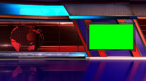 News TV Studio Set 05