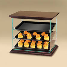 Attendant Serve Woodland Display Case