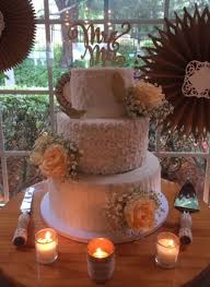 Rustic Romantic Wedding Cake On Central