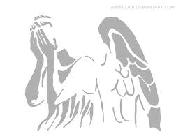 Ariel On Rock Pumpkin Carving Pattern by Awesome Weeping Angel Pumpkin Stencil Doctor Who Pinterest