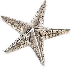 seestern versilbert silber dekoration deko tischdeko
