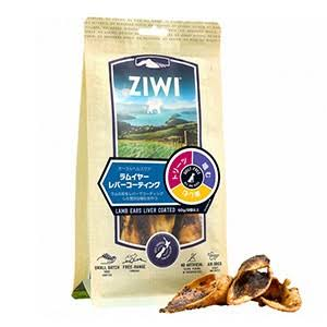 Ziwi Lamb Ears Liver Coated Dog Treats, 2.1-oz Bag