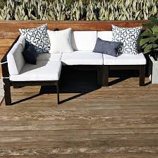 The Naples 7 Piece Patio Furniture Set From Overstock Is OK But We Wanted Something That Didnt Look Like Wicker