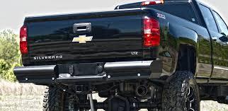 Black Steel ELITE Rear Bumper - Fab Fours