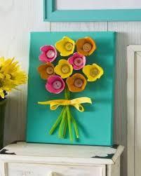 pot de yaourt recyclable tableau fleurs recyclage boutons et pots de yaourt astuces pour