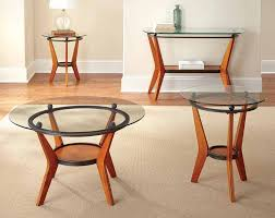 American Freight Sofa Tables by Saxony 3 Piece Table Set American Freight