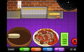 jeux de cuisine pizza papa louis papa s anthology chrome web store