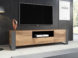 mirjan24 tv lowboard wood rtv schrank vom hersteller tv möbel wohnzimmer stilvoll füße farbe wotan anthrazit