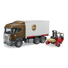 Bruder Scania R Series UPS Logistics Truck With Forklift - Jadrem Toys Ho Scale Intertional 4900 Singaxle Semi Tractor Ups Toy Truck Plastic With A Friction Motor Robert Flickr 132 Scale 379 Towing Truck An Trailer Youtube Toy Ups Package Delivery Upsz W Bow Tie Shield Logo Walthers Diecast Model Tow Trucks And Wreckers Box Is Converting Up To 1500 Delivery Trucks Batteryelectric Amazoncom Daron Die Cast 2 Trailers Toys Games Vintage Metal Ups Whatthis