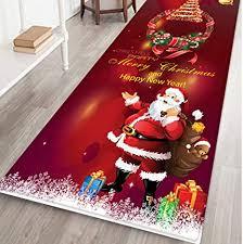 weihnachten teppich anti rutsch unterlage wohnzimmer kurzflor fußmatte innenbereich lustig waschbar home rutschfeste tür fußmatten teppiche küche