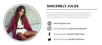 Sincerely Jules Blog Card Lifestyle Fashion Blogger