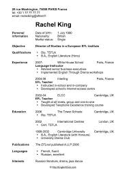 Basic Resume Template For First Job Time Examples Part