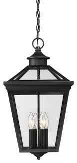 Savoy House Savoy House Ellijay Black Outdoor Hanging Lantern