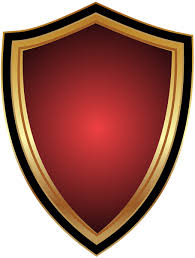Red Badge Transparent Clip Art PNG Image