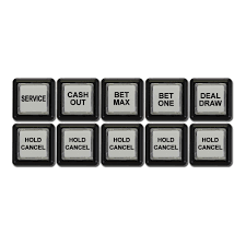 spin inc quality gaming machines equipment button set for