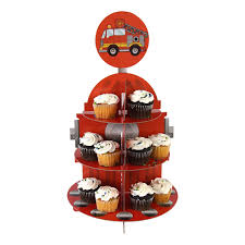 Fire Truck Party Cupcake Stands - 14.5in (Each) | Discount Party ... Tonka Titans Fire Engine Big W Buy Truck Firefighter Party Supplies Pinata Kit In Cheap Birthday Cake Inspirational Elegant Baby 5alarm Flaming Pack For 16 Guests Straws Cupcake Toppers Online Fireman Ideas At A Box Hydrant 1 And 34 Gallon Drink Dispenser Canada Detail Feedback Questions About Car Fire Truck Balloons Decor Favors Pinterest Door Sign Decorations Fighter Party I Did December