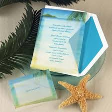 Design And Create The Beach Themed Wedding Invitations