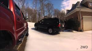4WD Vs 2WD In The Snow With Toyota 4Runner - YouTube 4wd Vs 2wd In The Snow With Toyota 4runner Youtube Tacoma 2018 New Ford F150 Xlt Supercrew 65 Box Truck Crew Cab Nissan Pathfinder On 2wd 4wd Its Not Too Early To Be Thking About Snow Chains Adventure Chevy Owning The 2010 Used Access V6 Automatic Prerunner At Mash 2015 Proves Its Worth While Winter Offroading Driving Fothunderbirdnet 2002 Ranger Green 2 Wheel Drive Bed Xl Supercab Extended Truck Series Supercab Landers Serving