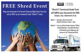 100 Shred Truck Free Event