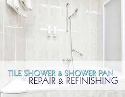Bathtub Reglazing Houston Texas by Shower U0026 Shower Pan Refinishing