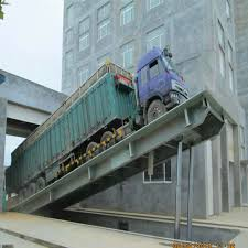 100 Truck Ramp 10tons Ceapproved Forklift Mobile Hydraulic For Loading And