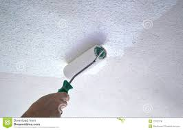 plafond de peinture photo stock image du prise construction
