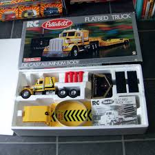 100 Rc Model Trucks RadioElecon Shinsei Peterbilt RC Radio Controlled Flatbed Truck 1 24