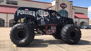 Monster Jam - Tony Ochs Reveals The Punisher Truck Houston | Facebook