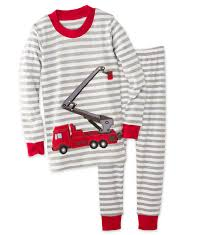 Fire Trucks Pajamas | HearthSong