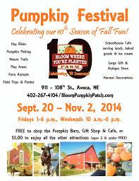 Pumpkin Patch Daycare Kearney by Elmwood Newsletter 10 22 2014