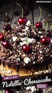 nutella nobake cheesecake