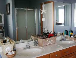 Pinterest Bathroom Ideas Beach by 27 Best Ocean Theme Bathroom Images On Pinterest Bathroom Ideas